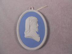 Wedgwood Jasperware Limited Edition Portrait Medallion 1975 Chaucer | eBay