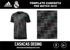 CAMISETA ENTRENAMIENTO REAL MADRID 2018 Team Wear, T Shirt, Template, Stuff To Buy, Soccer, Sport, Ideas, Football Shirts, Soccer Drills