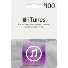 $100 Apple Itunes Gift Card, Computers & Electronics, US-Nationwide: $100.00 End Date: Sunday Mar-25-2018 19:39:57 PDT Buy It Now for only:…