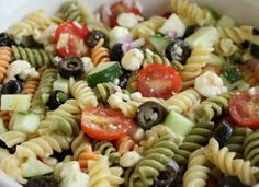Schaeffer Girls' Grub: Feta and Vegetable Rotini Salad
