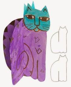 Laurel Birch Cat - ART PROJECTS FOR KIDS