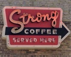 I love neon signs. I also love strong coffee. I Love Coffee, My Coffee, Night Coffee, Coffee Girl, Black Coffee, Au Hasard Balthazar, Vintage Neon Signs, Vintage Coffee Signs, Willem De Kooning