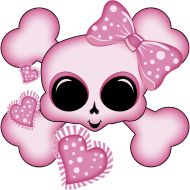 Cute Pink Skull Tote Bag – white Cute Pink Skull This is the only skull you will see on. Girly Skull Tattoos, Sugar Skull Tattoos, Sugar Skull Art, Sugar Skulls, Art Tattoos, Skull Tattoo Design, Skull Design, Tattoo Designs, Skull Pictures