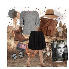 """Brown"" by veronica-jaz on Polyvore"