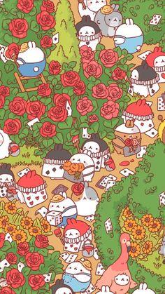 Drawing Cute Disney Alice In Wonderland 53 Ideas Cute Wallpaper Backgrounds, Wallpaper Iphone Cute, Cute Cartoon Wallpapers, Aztec Wallpaper, Iphone Backgrounds, Pink Wallpaper, Screen Wallpaper, Iphone Wallpapers, Cute Animal Drawings