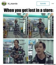 topp-dogg. This is me but I can always find my mom by her voice since she talks really loud I just travel towards it by ear. Haha