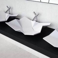 Origami sink Bathroom