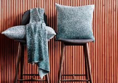 The 2016 Maison&Objet Trend selection | Maison&Objet 2016 | maison et objet | design fair | Paris design fair | trend selection | patterned fabric | pixel fabric | scandinavian fabric | green fabric
