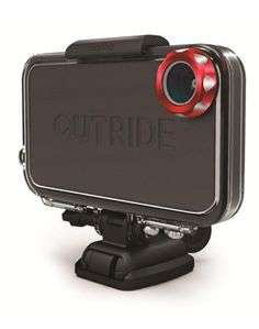 A super tough polycarbonate case with a wide-angle lens // The Mophie OutRide