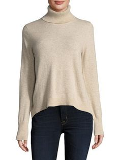 Cashmere Turtleneck Sweater by Barrow & Grove at Gilt