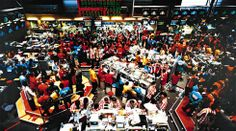 Singapore Stock Exchange, 1997. Andreas Gursky.