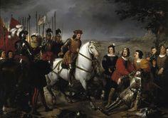 La batalla de Ceriñola (28 de abril de 1503) fue un enfrentamiento bélico ocurrido entre las tropas francesas y españolas, con victoria de estas últimas, durante la segunda guerra de Nápoles, en lo…