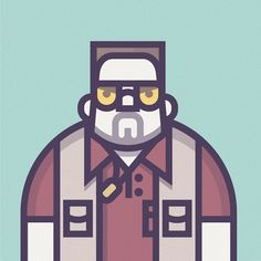 Illustrations of Coen's Movies Characters by Richard Perez