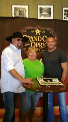 Me with Montgomery Gentry at fan fair 2015