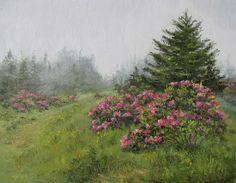 Cloudland by Linda Apriletti Oil ~ 11 x 14 #oilpainting #landscape