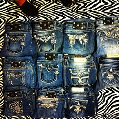 miss me jeans. I wish I had all these in my closet