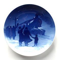 Bing & Grondahl Denmark 1931 Juleaften Christmas Plate #ecrater