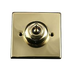 Convert-A-Switch Single Victorian Brass Light Switch Toggle Cover Plate in Home, Furniture & DIY, DIY Materials, Electrical Fittings | eBay