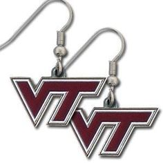 Virginia Tech Hokies NCAA Dangle Earrings