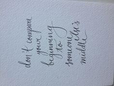 Quote calligraphy by cotton blossom