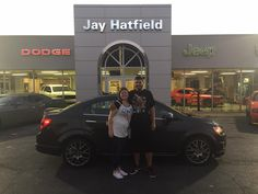 CASSI, congratulations on your new 2015 Chevrolet Sonic!  Thank you again for the opportunity to earn your business, Jay Hatfield CDJR and SHAWN STRANG.