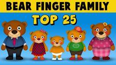 "Watch and enjoy "" bear finger family"" nursery rhyme for children. Lyrics: Daddy finger, daddy finger, where are you? Finger Family Song, Family Songs, Kids Songs, Family Cake, Nursery Rhymes, Daddy, Bear, Youtube, Home"