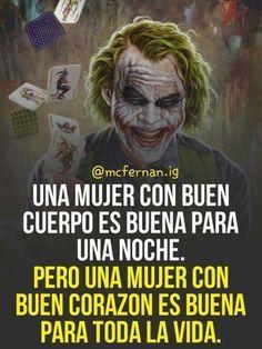Joker Frases, Joker Quotes, Motivational Phrases, Inspirational Quotes, True Quotes, Funny Quotes, Funny Memes, Joker Heath, Pretty Quotes