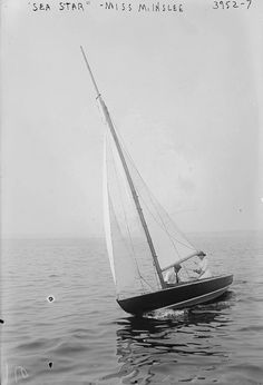 """"""" Sea Star - Miss M. Inslee, 1916 George Grantham Bain Collection """""""