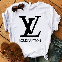 Louis Vuitton t shirt This t-shirt is Made To Order, one by one printed so we can control the quality. We use newest DTG Technology to print on to T-Shirt. Louis Vuitton T-shirt, Louis Vuitton Handbags, Lv Handbags, Chanel Shirt, Gucci Shirts, Gucci Shirt Women, Teen Fashion Outfits, Tee Design, Printed Shirts