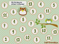 Math game with dice - Free printable