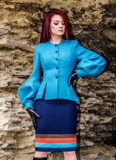 Natasha Suit by LauraGalic on Etsy