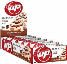 Yup Brands B-Up Bar Cinnamon Roll 12 - 62g Bars YUP4250014 Cinnamon Roll - Naturally Flavored High Protein Bar