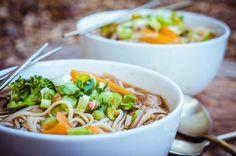 Healing Miso Noodle Soup (Vegan)