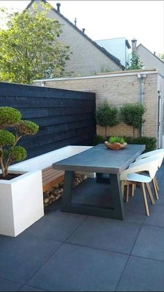 Terrace bench hard landscaping ideas, backyard landscaping, back gardens, Garden Seating, Terrace Garden, Outdoor Seating, Garden Beds, Backyard Patio, Backyard Landscaping, Back Gardens, Outdoor Gardens, Hard Landscaping Ideas