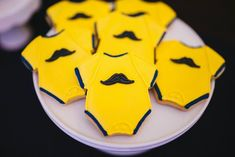 Originales galletas para un baby shower / Original cookies for a baby shower