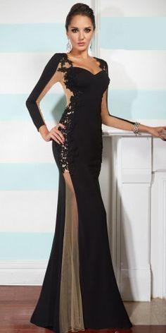 Long sleeve dresses - 3 PHOTO!