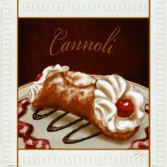 Cannoli#Repin By:Pinterest++ for iPad#