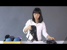 A comprehensive video demonstration of KonMari Folding! Here's how to fold clothes using the KonMari Method so that they stand upright to save more space in . Organizar Closets, Konmari Method Folding, Folding Socks, How To Fold Underwear, Organiser Son Dressing, Konmari Methode, Kendo, Tidy Up, Closet Organization