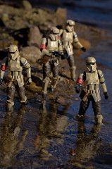 Shore Patrol (atari_warlord) Tags: 375 actionfigure hasbro rogueone scarifstormtrooper shoretrooper starwars