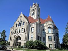 Hancock County Courthouse, Greenfield, Indiana