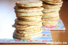 For travle dager! Holidays And Events, Pancakes, Brunch, Food And Drink, Treats, Snacks, Cookies, Baking, Breakfast