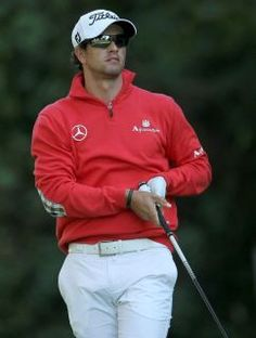 Adam Scott- a great golfer-good looker-owner of the Green Jacket!!!