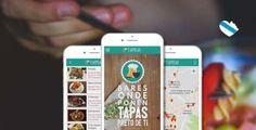 Unha aplicación móbil axuda a localizar os bares que serven tapas coa consumición - Código Cero - Diario Tecnolóxico de Galicia Tapas, Bar, Four Square, Trip Advisor, Iphone