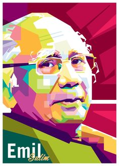 Emil Salim in WPAP  If you are interest with my art, you can contact me at  Email : order.wpap@gmail.com Line : limadaiqbal WA : 085776206000   #emil #salim #emilsalim #coreldraw #wedhaspopartportrait #wpap #newart #order #likes #popularart #fullcolor #vector #art #pinned #popularfilm #portrait #gift #kadounik #kadoultah #birthday #lineart #fanart #sdgs #uncurve