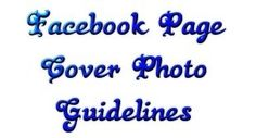 Facebook Page Cover Photo Guidelines Update – March 2013