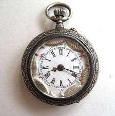Gorgeous Early 1900s French Pocket Watch