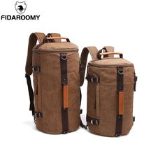 aa084e99430b 2018 Large Capacity Rucksack Man Travel Bag Mountaineering Backpack Male  Luggage Boys Canvas Bucket Shoulder Bags