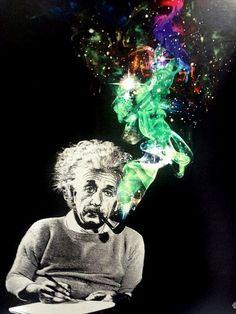 Einstein psychodelic