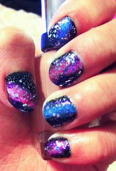 i want to learn how to do this to my nails!