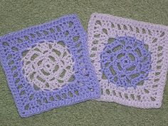 Ravelry: Pretty Spaces Square pattern by Amelia Beebe